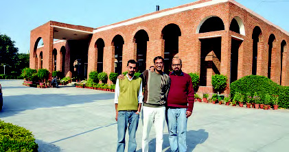 Ammad Aziz, Omair Shabbir, and Sabahuddin Sulaiman – students of the Lahore University of Management Sciences, popularly known as LUMS. The trio had come to MDI Gurgaon on a student exchange programme.